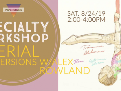 SPECIALTY WORKSHOP 8/24/19 | 2:00-4:00pm